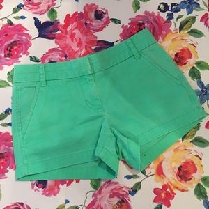 J.Crew Chino Mint Shorts